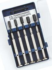 Mannesmann Precision Mini Sockets Set <> 6 pcs <> Carbon Steel <> VPA GS TUV