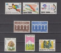 ANDORRA - ANDORRE - SPANISH - COMPLETE YEAR 1984 MNH