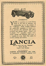 1923 Original Vintage Lancia Trikappa Torpedo Automobile Motor Car Art Print Ad