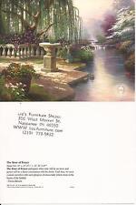 "Thomas Kinkade,""THE HOUR OF PRAYER"" Two (2) Postcards , NEW"
