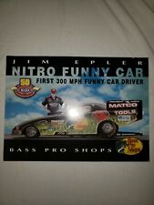 8x10 Color Drag Racing Photo Jim Epler Bass Pro Shop 2001