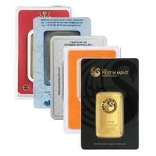 1 oz Gold Bar | Sealed In Assay | Lot of 5