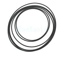 More details for 6 mixed 57mm - 90mm rubber drive belt for cassette tape deck bulk wholesale