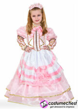 9 years Raperonzola Southern Belle Pink Civil War Childs Girls Costume Dress by