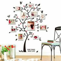 3D DIY Wall Stickers Black Tree PVC Wall Mural Art Home Decor For Kids Rooms