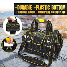 Waterproof Heavy Duty Tool Bags Portable Tool Storage with Strap  ~