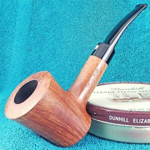 EXCELLENT! Cavicchi CCCCC THICK POKER SITTER FREEHAND ITALIAN Estate Pipe CLEAN!