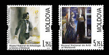 Moldova 2013 Art: Mihai Eminescu in Paintings 2 MNH Stamps