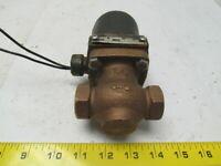 "Magnatrol valve corp 14L42YZ Liquid oxygen 120v 60Hz 25w 1/2""npt ports"