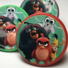 Angry Birds Birthday Party Favors Red Rings - Set of 36