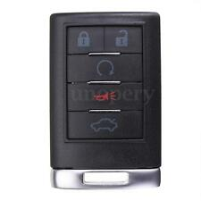 5 Btns Remote Key Case Fob Keyless For Cadillac 2008-2012 CTS DTS STS OUC6000066