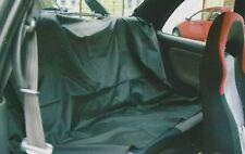 Noir, résistant à l'eau voiture banquette arrière housse de siège. protection contre sport, animaux de compagnie