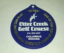 Otter Creek Course Golf Bag Tag Columbus Indiana