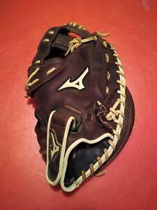 "Mizuno GXS-90F1 Franchise 34"" Fastpitch Softball Catchers Mitt Right Hand Throw"