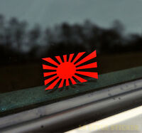 rising sun Aufkleber, made in japan, kriegsflagge, JDM tuning japan flagge 64