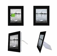 Pack of 10 Black 11x14 Self-assemble Photo Mat for 8x10 picture