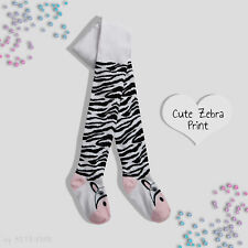 Girls Tights Cotton Rich Plain Patterned Unicorn Soft Striped Infant 2-8 Years