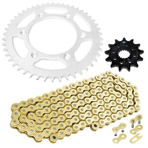HONDA CRF450 R 2002-2016 Regina ORN-6 O/'Ring Chain /& Silver Renthal Sprocket Kit