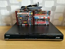More details for toshiba hd-ep30 hd dvd disc player hdmi black + remote + 21 hd dvds