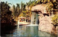 Disneyland Postcard Safari Jungle Cruise Schweitzer Falls Adventureland~134833