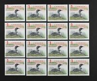 CANADA 1998 #1687, $1 Loon, Wholesale lot of 16 stamps Mint NH