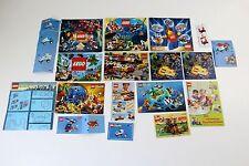 ⚜ Lego Kataloge/Flyer/Anleitungen ⚜ Konvolut / Sammlung ⚜    #I
