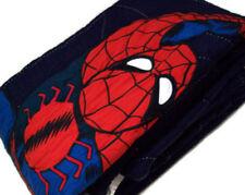 Pottery Barn Kids Marvel Multi SpiderMan Spider Man Web Cotton Twin Quilt New