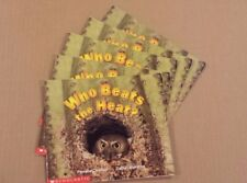 NICE Lot Set 5 Guided Reading Books Scholastic WHO BEATS THE HEAT Chanko/Moreton