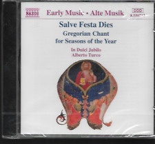 SALVE FESTA DIES CD GREGORIAN CHANT FOR SEASONS OF THE YEAR NEW/SEALED