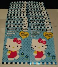 New lot of 18 Hello Kitty Coloring and Activity Books -Free shipping