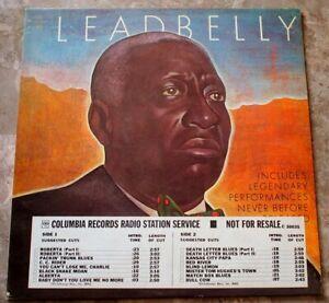 Leadbelly Legendary Performances 1970 LP Vinyl NM- Original Mono Promo C 30035