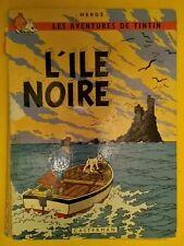 TINTIN - L'ILE NOIRE - édition B38 bis 1969 - Etat d'usage