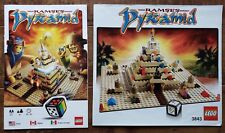 LEGO 3843 Ramses Pyramid Board Game - Instruction + Build Manuals ONLY