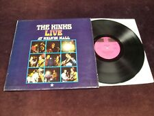 "THE KINKS ""LIVE AT KELVIN HALL"" LP 1ST UK PRESS STEREO PYE '68 BEAT ROCK N ROLL"