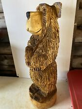 Chainsaw Carving Bear Carving Animal Carving Wood Carvings