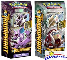 Pokemon HS Heartgold & Soulsilver Triumphant FACTORY SEALED Theme Deck Set of 2
