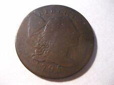 1795 Liberty Cap Large Cent / Plain Edge / Good+