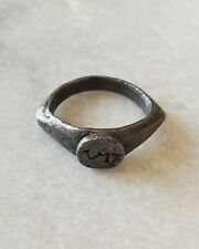 New ListingGenue Roman Silver Seal Ring 1st - 2nd century Ad