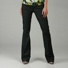 NWT! $285 Proportion of  Blu FLARE WIDELEG jeans japanese MADE USA MISSES  24X34