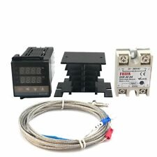 Digital Pid Temperature Controller Thermostat Industrial Standing Stations Tools