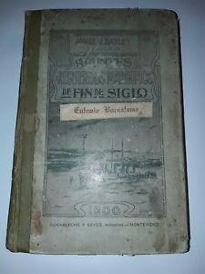 Recuerdos Maritimos de Fin de Siglo Bayley Uruguay 1900 Military ship boat Polar