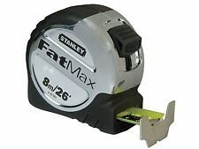 STANLEY FATMAX 8m (26ft) Metric/Imperial Tape Measure,32mm Armoured Blade,533891