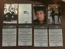 Bob Dylan postcard set from The Bootleg Series Vol. 6