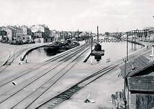 ROANNE c. 1950 - Port Péniche Loire Rhone-Alpes - DIV1125