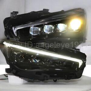 2015-2019 year Full LED headlights for Infiniti Q50L LED front lamps LDV2