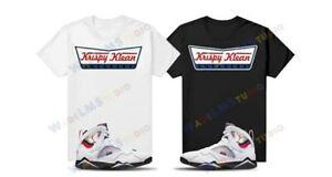 "T Shirt To Match Air Jordan 7 Paris ""Saint Germain"" Krispy Klean tee"