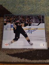 8x10 Boston Bruins Signed Johnny Boychuk