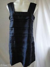 H & M Dark Navy, Layered Shift Dress Size EUR 38 AUS 8-10