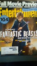 FALL MOVIE PREVIEW ENTERTAINMENT WEEKLY 08/19/26./2016 SCOOP ON 104 NEW FILMS