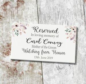 Nd3 Wedding Memorial Missing Loved Ones Heaven Personalised Reserved Wedding Sea